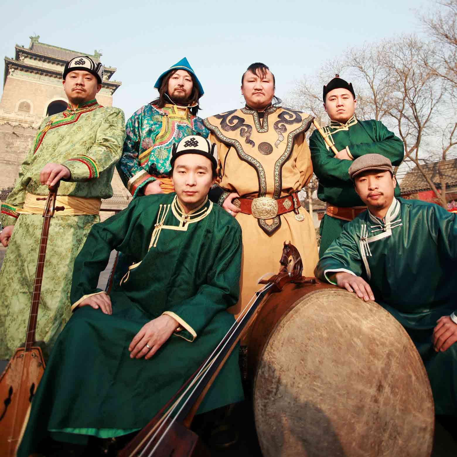 Mongoolse keelzang met rockinvloeden