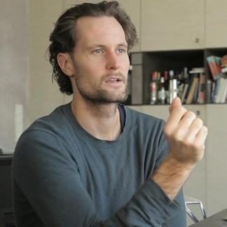 Videoportet van archetype Berlijnse ondernemer Eric Wahlforss