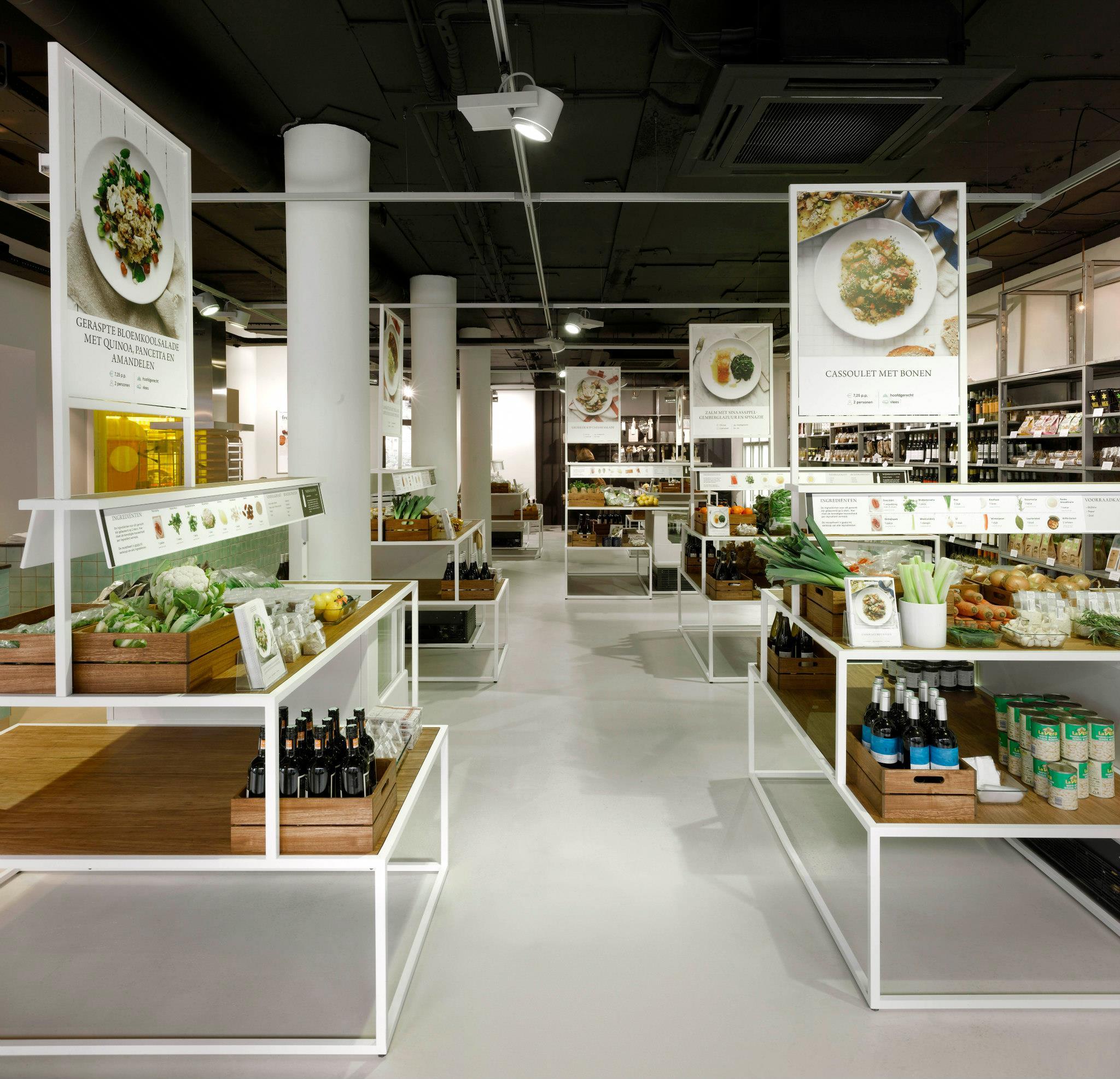 Bij supermarkt Bilder & De Clercq koop je alleen ingrediënten die je écht nodig hebt