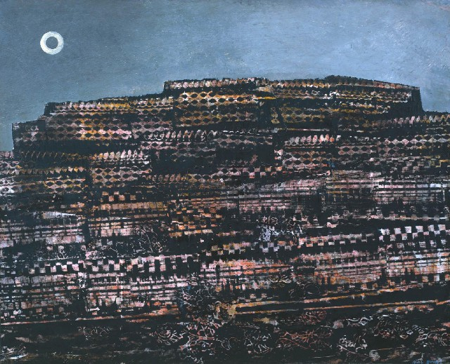 The Entire City 1934 by Max Ernst 1891-1976