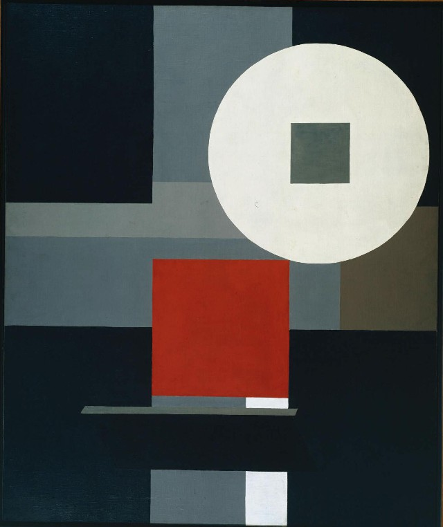 Composition No. 15 1925 by Friedrich Vordemberge-Gildewart 1899-1962