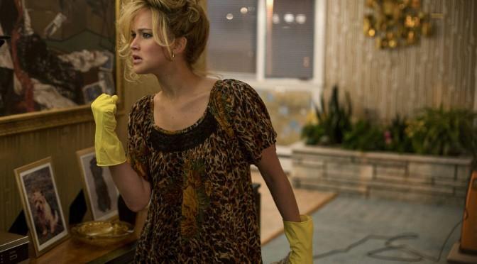 Jennifer Lawrence als weergaloze woedende huisvrouw in American Hustle