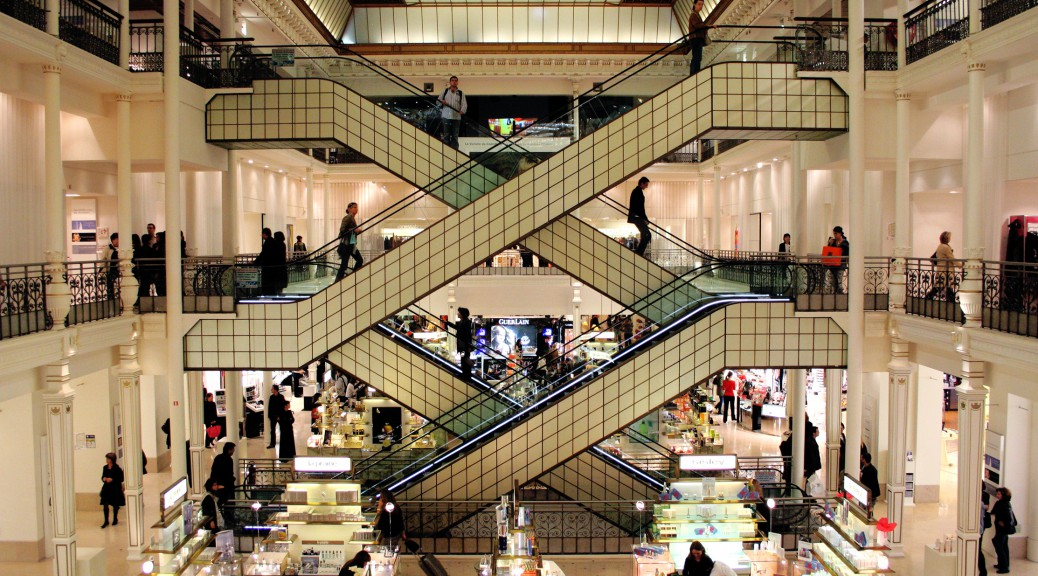 Le Bon Marché Japon. Photo: Flickr / Robyn Lee