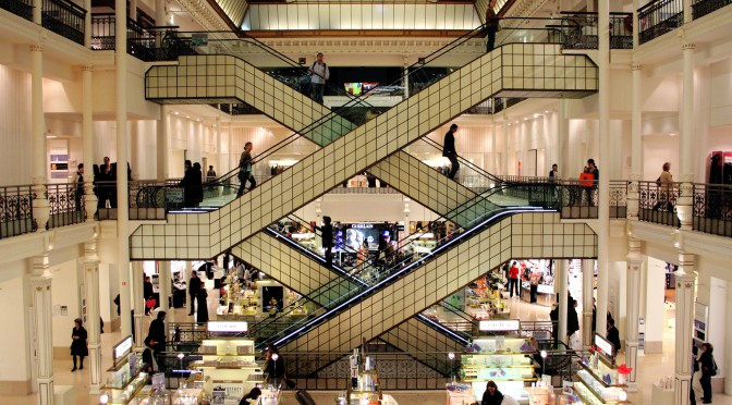 How a department store competes with web shops: Le Bon Marché leads the way
