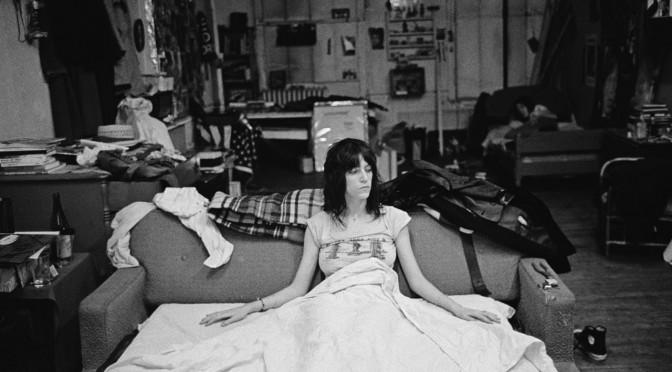 Patti Smith gives advice to the young