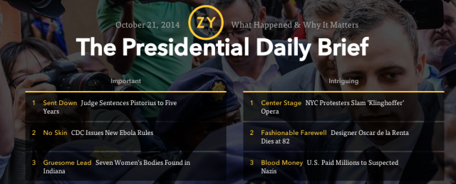 Screenshot of Ozy.com
