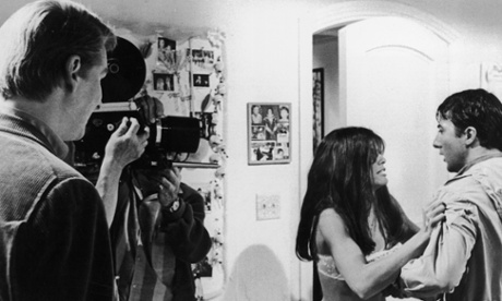 Mike Nichols at the set of my all-time favorite movie: The Graduate