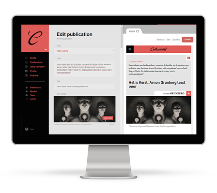 Respondens. The editor behind De Correspondent