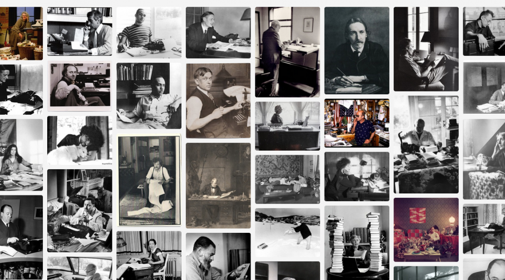 The Writers at Work photo collection
