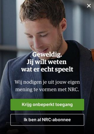 NRC paywall