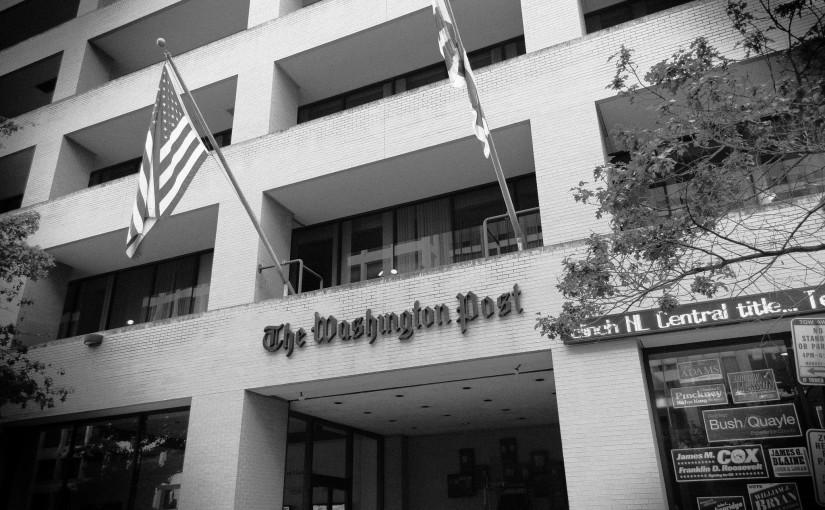 Meer bezoek voor The Washington Post dan The New York Times