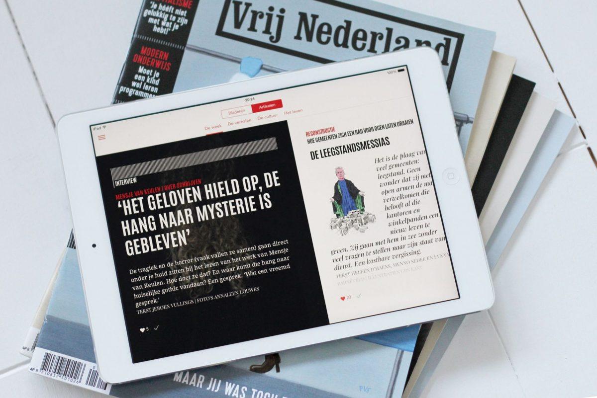 Blendle maakt nu ook apps voor uitgevers