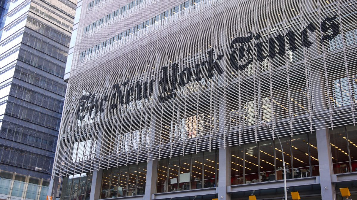 The New York Times blijft inzetten op servicejournalistiek