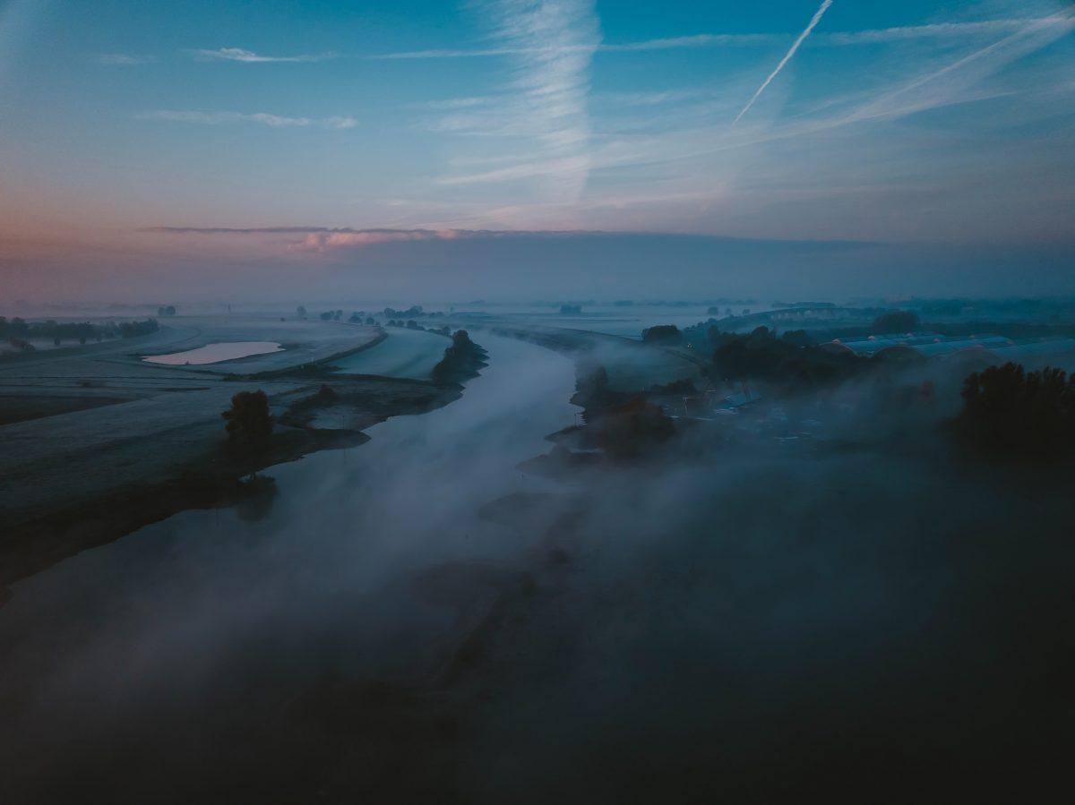 Mooie ochtendfoto genomen door Sander Weeteling